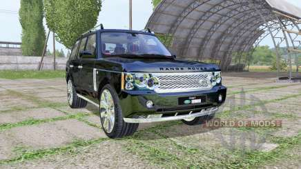 Land Rover Range Rover Supercharged (L322) 2009 для Farming Simulator 2017