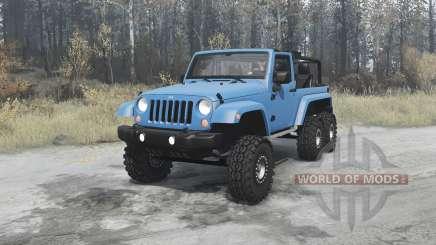 Jeep Wrangler (JK) 6x6 turbo для MudRunner