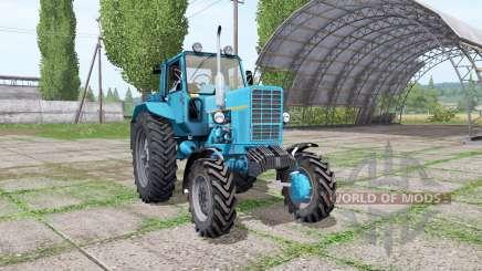МТЗ-82 Беларус синий для Farming Simulator 2017
