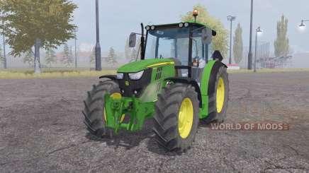 John Deere 6110RC для Farming Simulator 2013
