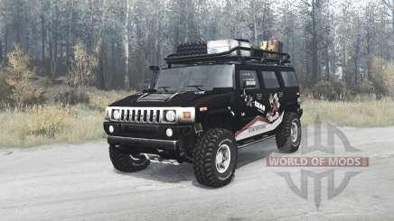 Hummer H2 TrophyStorm для MudRunner