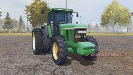 John Deere 7800 v1.1 by Bassrat для Farming Simulator 2013