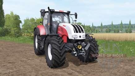 Steyr 6225 CVT v2.1.1.2 для Farming Simulator 2017