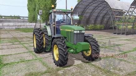 John Deere 7410 USA для Farming Simulator 2017