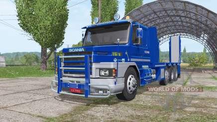 Scania T112E 8x8 для Farming Simulator 2017
