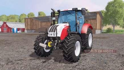 Steyr Profi 4130 CVT v1.1 by Cebuljcek для Farming Simulator 2015
