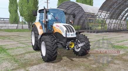 Steyr Multi 4115 front loader для Farming Simulator 2017