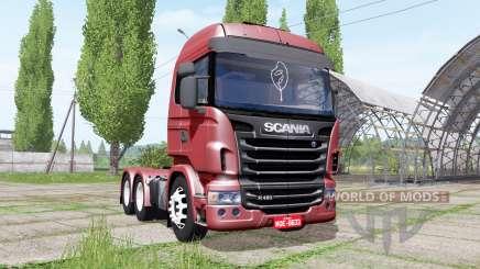 Scania R480 для Farming Simulator 2017