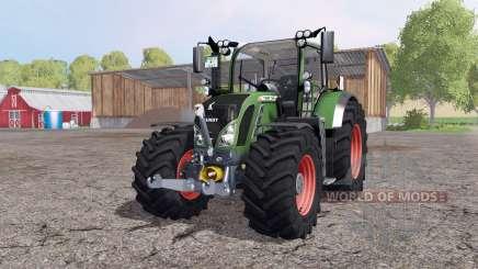 Fendt 724 Vario SCR v4.6 by Ago-Systemtech для Farming Simulator 2015
