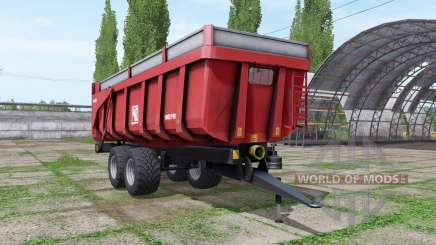 Gilibert 1800 PRO red для Farming Simulator 2017