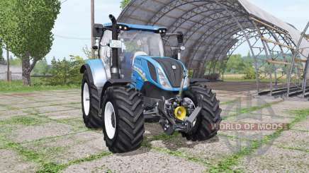 New Holland T6.140 v1.1 для Farming Simulator 2017