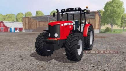 Massey Ferguson 6485 red для Farming Simulator 2015