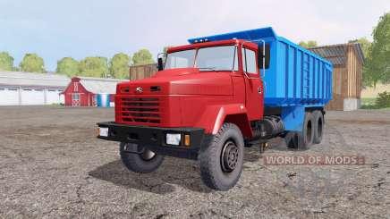 КрАЗ 6130С4 1997 для Farming Simulator 2015