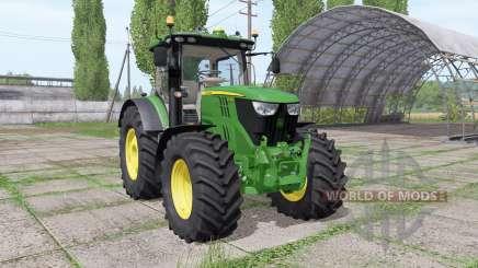 John Deere 6215R v2.3 для Farming Simulator 2017