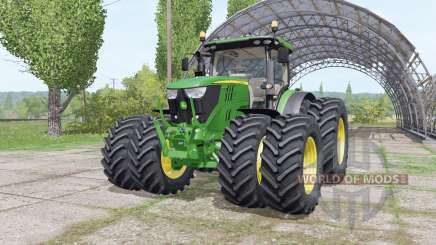 John Deere 6175R v3.0 для Farming Simulator 2017