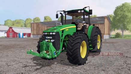 John Deere 8330 v4.4 by VMV Modding для Farming Simulator 2015