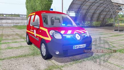 Renault Kangoo Extrem 2013 Sapeurs-Pompiers для Farming Simulator 2017