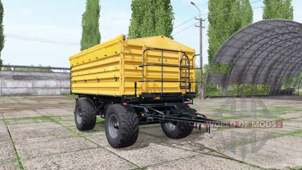 Wielton PRS-2-W14 yellow для Farming Simulator 2017