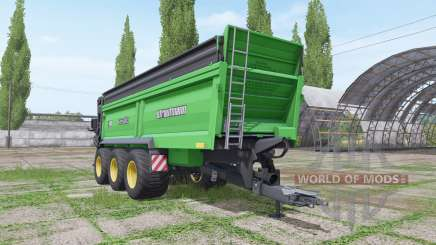 Strautmann PS 3401 more realistic для Farming Simulator 2017