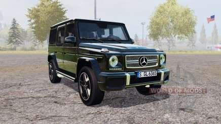 Mercedes-Benz G 65 AMG (W463) для Farming Simulator 2013