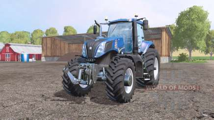 New Holland T8.320 ultra для Farming Simulator 2015