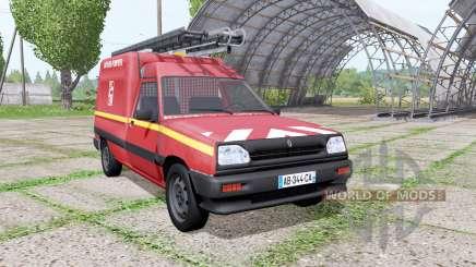 Renault Express Sapeurs-Pompiers для Farming Simulator 2017