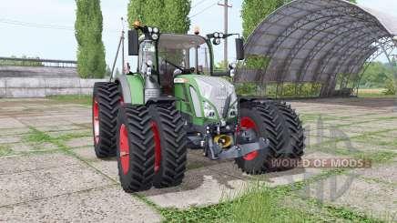 Fendt 714 Vario SCR double narrow для Farming Simulator 2017