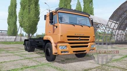 КАМАЗ 658667 для Farming Simulator 2017
