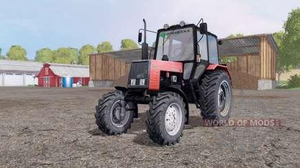 МТЗ 892 Беларус красный для Farming Simulator 2015