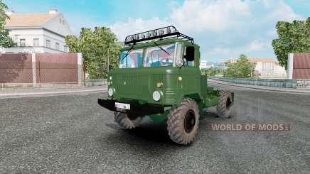 ГАЗ 66 для Euro Truck Simulator 2