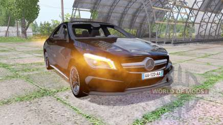 Mercedes-Benz CLA 45 AMG (C117) Black Edition для Farming Simulator 2017