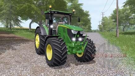 John Deere 6135R v3.3 для Farming Simulator 2017