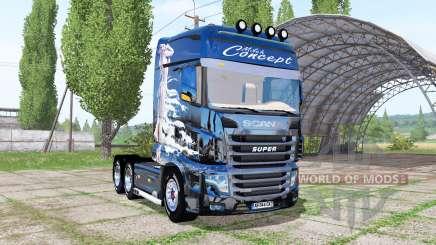 Scania R700 Evo Milch Concept для Farming Simulator 2017