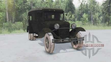 ГАЗ 55 1938 Санитарный для Spin Tires