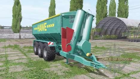 Hawe ULW 5000 T для Farming Simulator 2017