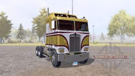 Kenworth K100 v1.1 для Farming Simulator 2013