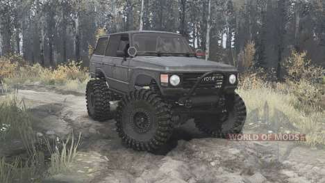 Toyota Land Cruiser 60 edit Campicompeticion для Spintires MudRunner