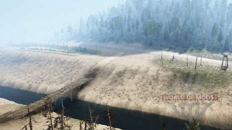 Dry Creek для Spintires MudRunner