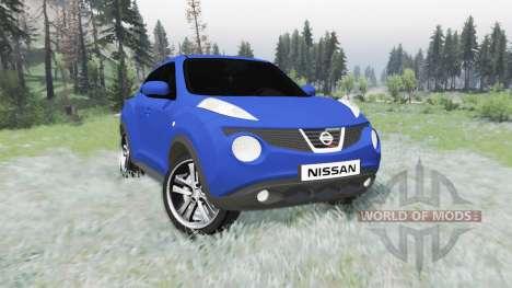 Nissan Juke (YF15) 2011 v1.1 для Spin Tires