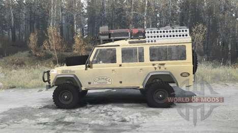Land Rover Defender 110 Station Wagon для Spintires MudRunner