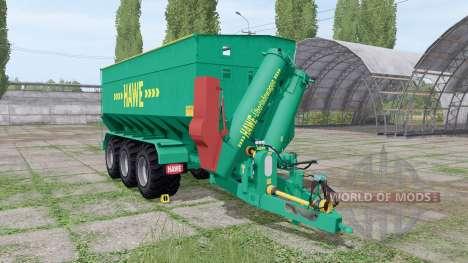 Hawe ULW 3000 T для Farming Simulator 2017