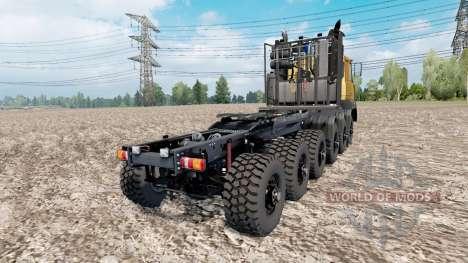 МАЗ прототип 12x12 для Euro Truck Simulator 2
