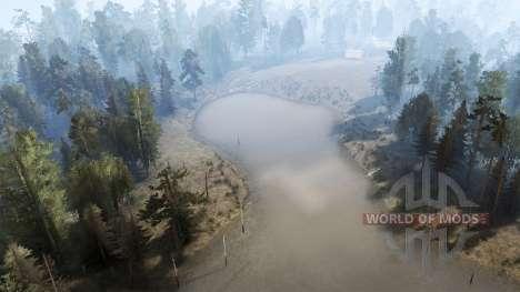 Горная река для Spintires MudRunner