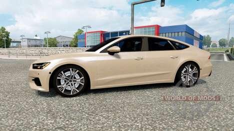 Audi A7 Sportback 2018 для Euro Truck Simulator 2