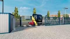 Анимация ворот v2.4 для Euro Truck Simulator 2