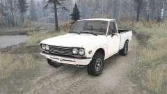 Datsun Pickup (521) 1969 для MudRunner