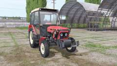 Zetor 7011 by Asbest для Farming Simulator 2017