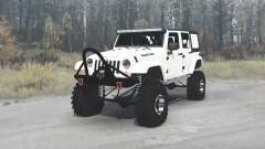 Jeep Wrangler Unlimited Rubicon (JK) crawler для MudRunner