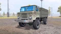 ГАЗ 66 v1.1 для Farming Simulator 2013