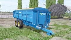 West 12t v1.1 для Farming Simulator 2017